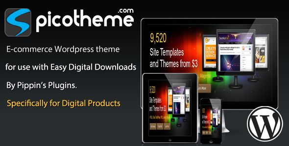 Picotheme Themeforest Clone Script - WordPress