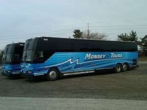 Two Charter Buses at the ready!