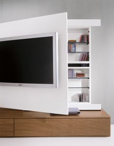 Tv unit | Home Decor | Living Room |  Painel de TV | Decoração | Sala de estar | TV Meubel | TV Wall | Floating TV Cabinet TV unit - move able front for hidden storge