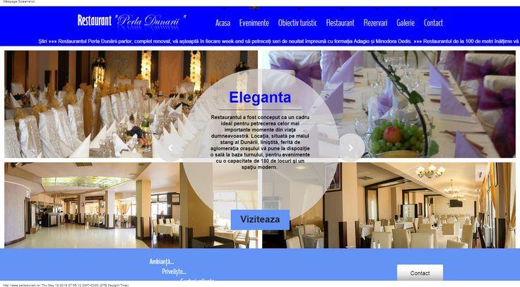 Restaurant Perla Dunarii Galati in incinta turnului TV