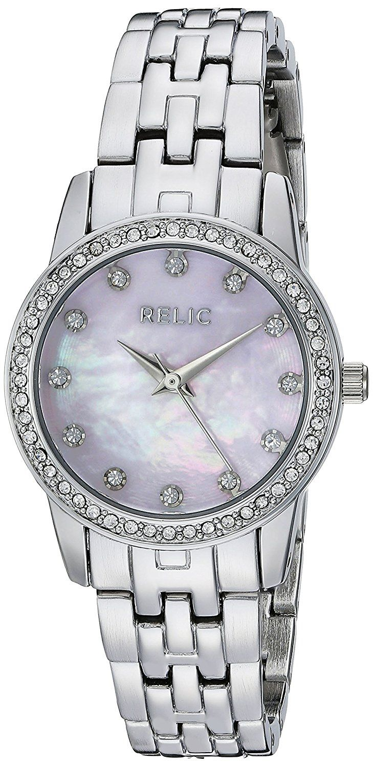 Relic Women's ZR12167 Analog Display Analog Quartz Silver Watch * To view further for this watch, visit the image link.