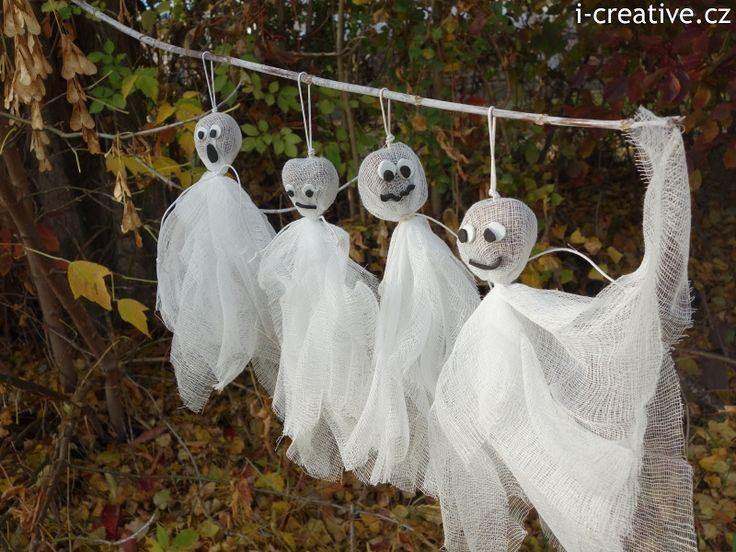 nápady výtvarka strašidla bubáci - Hledat Googlem