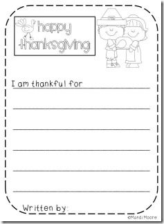 First thanksgiving essay