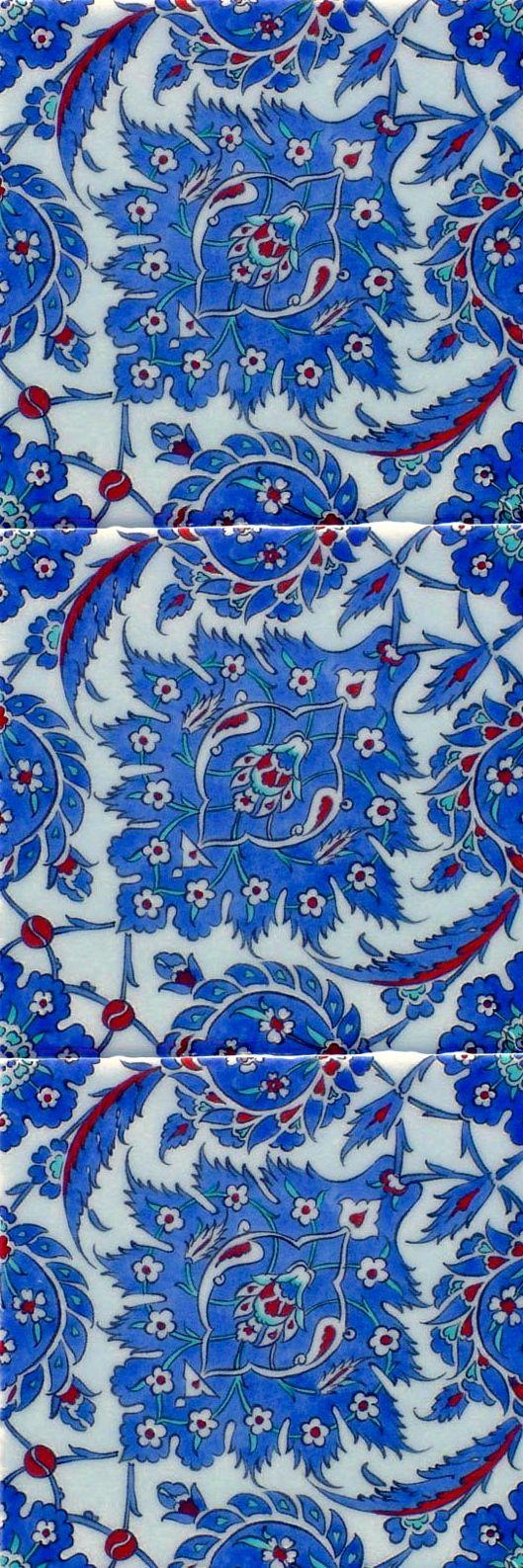 :::: PINTEREST.COM christiancross ::::turkish tiles                                                                                                                                                                                 Más