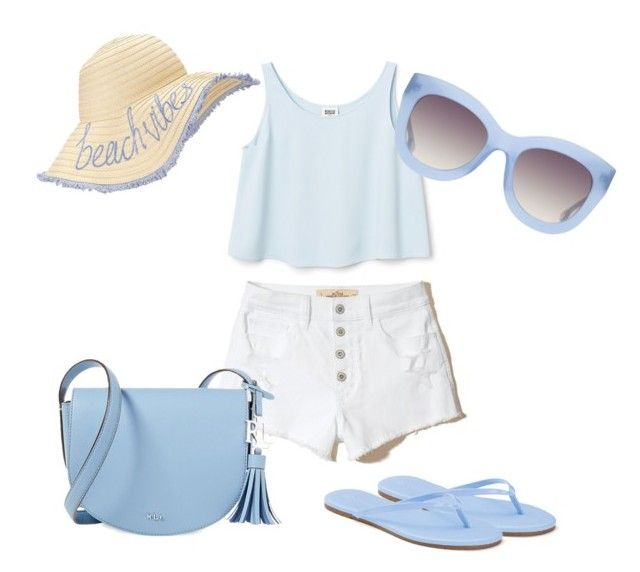 """""""Percy Jackson Cabin 3:  Poseidon Inspired Outfit"""" by camemckeith on Polyvore featuring Hollister Co., LC Lauren Conrad, Lauren Ralph Lauren, Alice + Olivia and Miss Selfridge"""