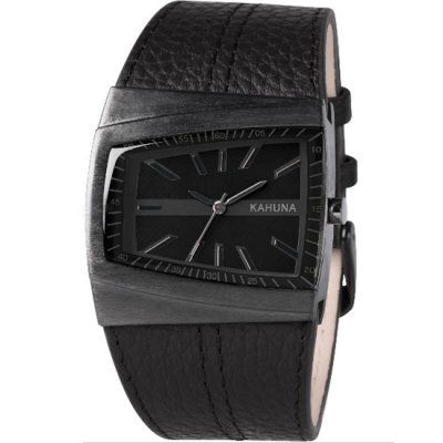 Kahuna - Gents Black Ion Plated Case Watch - KUS-0070G - RRP: £35.00 - Online Price: £29.75