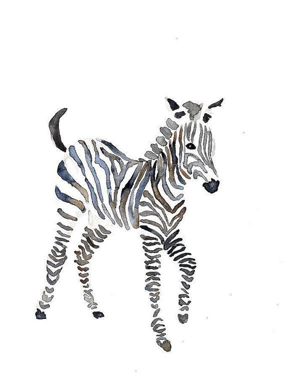 Hey, I found this really awesome Etsy listing at https://www.etsy.com/listing/201052885/zebra-original-watercolor-painting