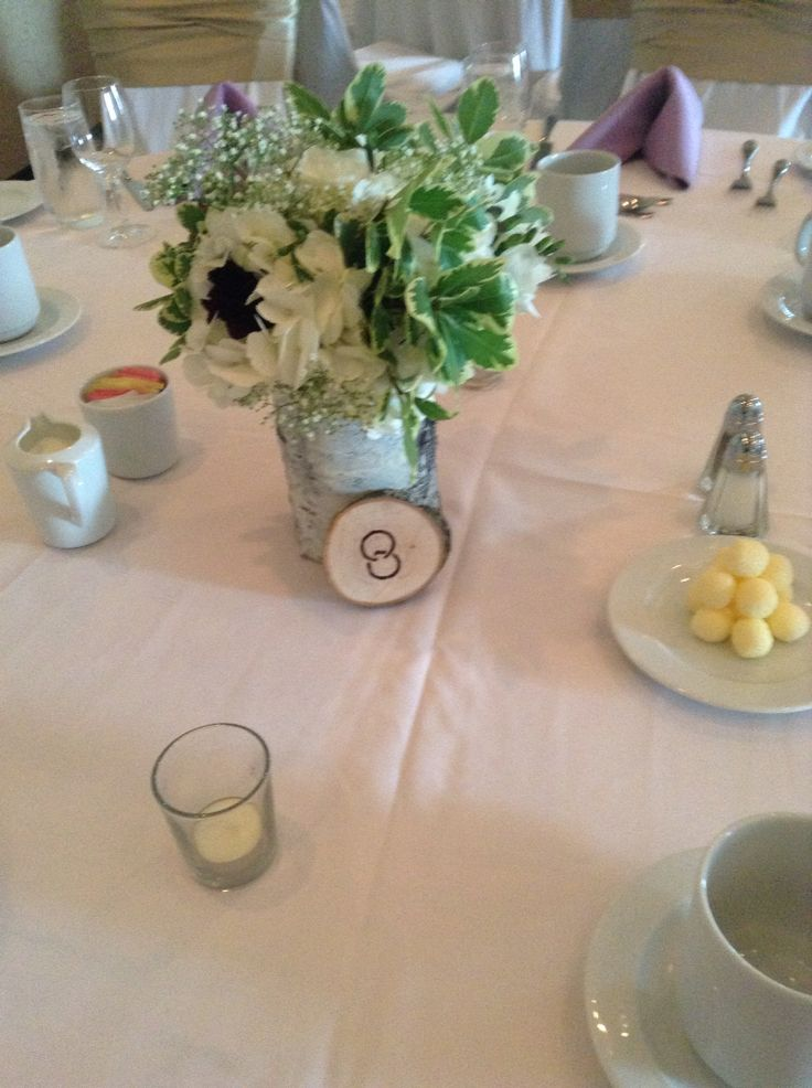 Centre pieces we created for our clients wedding #weddingflowers by High Gloss Weddings