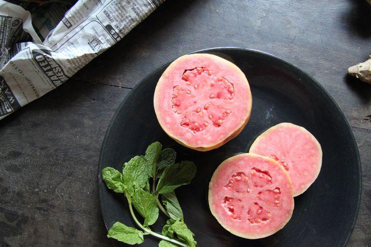 // Pink guava from Block Shop India tour for  @tmagazine #jaipur #miltonavery #textiles