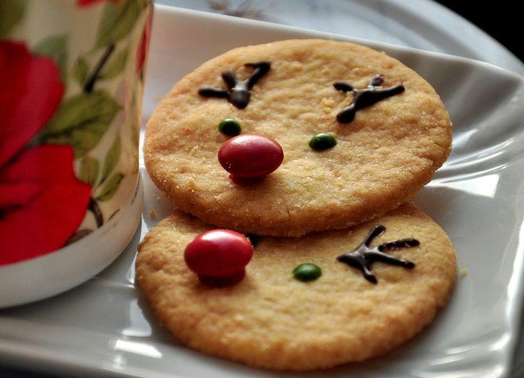 ciasteczka renifery- dobry przepis, również na stemple
