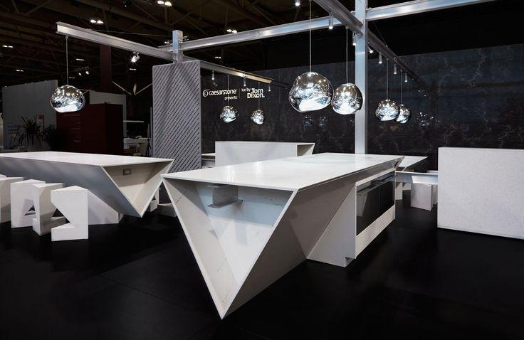 ICE kitchen @ IDS Toronto 2016 by Tom Mannion http://caesarstone-tomdixon.com