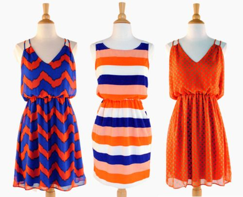 Gators Gameday Dresses from 12 Saturdays #uf #tailgating