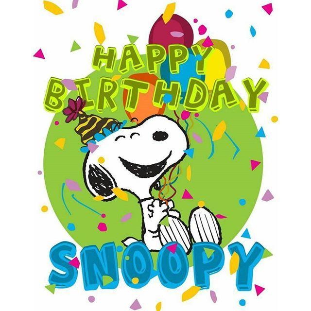 Snoopy Love, Snoopy, Snoopy Birthday