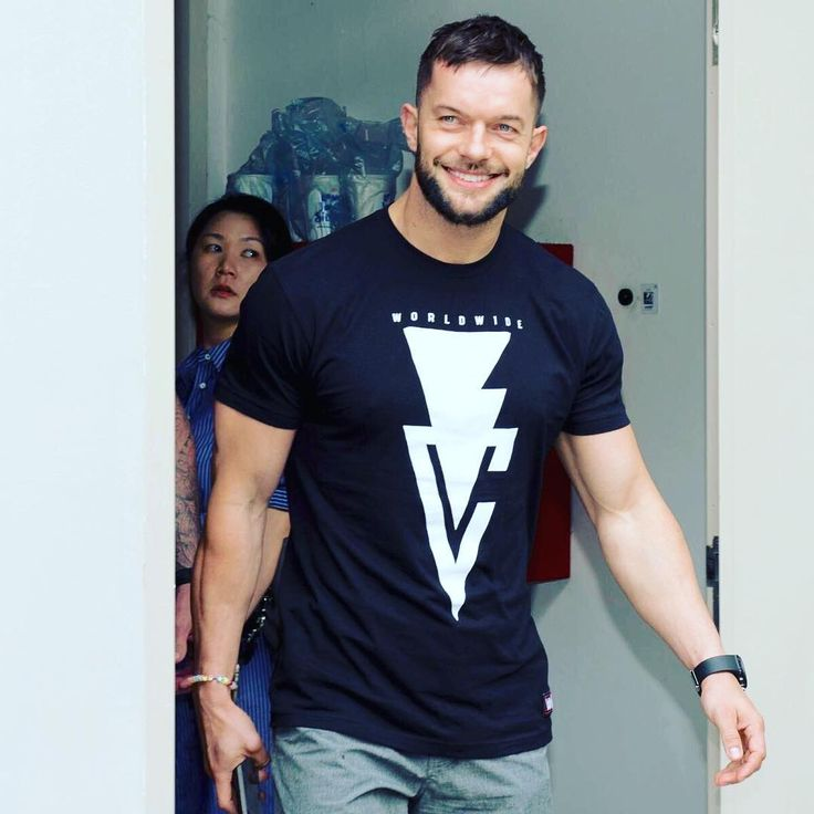 Finn balor with that beautiful smile of his!