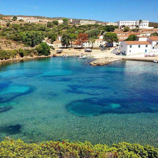 Cala d'Oliva, Island of Asinara, Sardinia