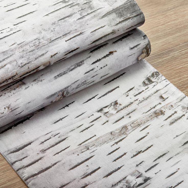 chemin de table motif de bouleaux 13 x 84 cuisine pinterest bouleau. Black Bedroom Furniture Sets. Home Design Ideas