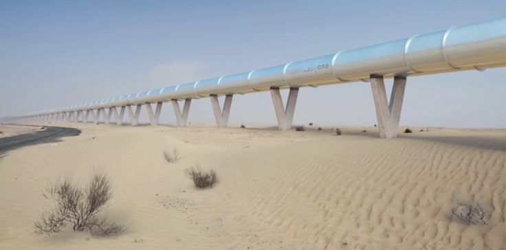 Hyperloop One unveils its entire system announces deal to bring network to Dubai http://ift.tt/2fv06NA