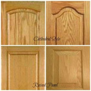 how to update oak or wood cabinets cathedral panels mean your kitchen is still going to look old. She recommends hardware, and has more good advice I MUST follow. D