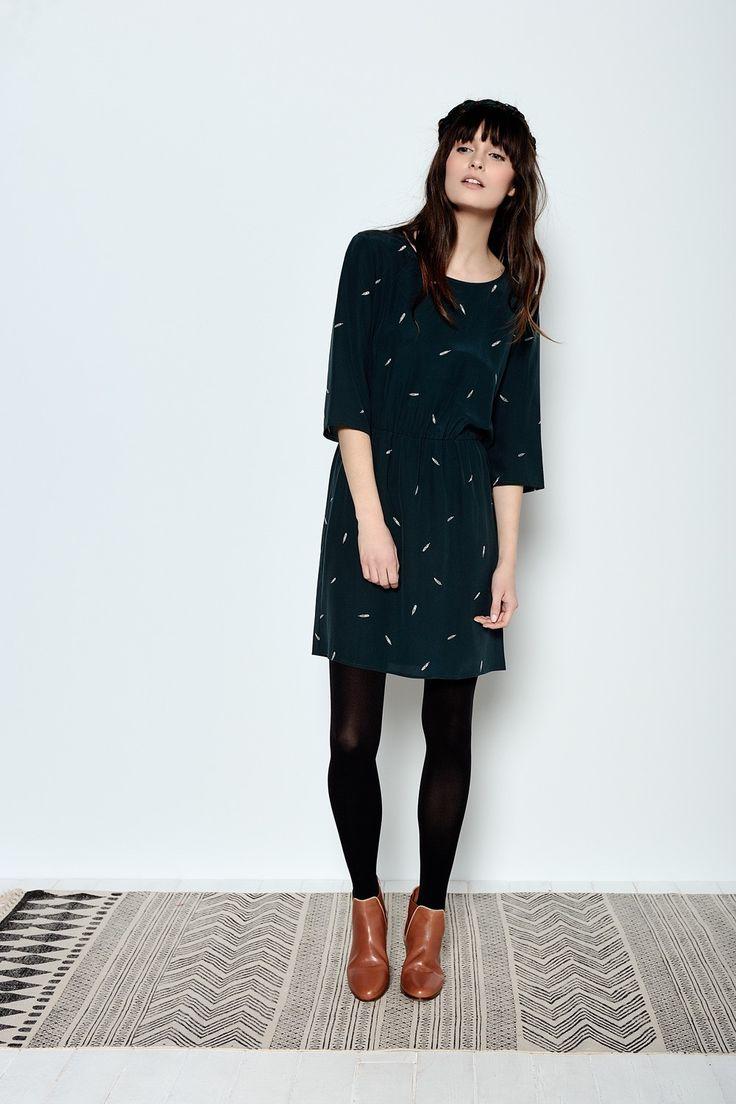 Robe Idora Plumette - Robe - Des Petits Hauts