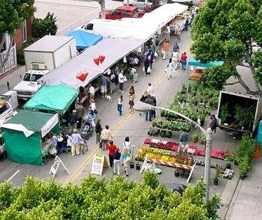Santa Monica Farmers' Market, California - America's Best Farmers' Markets | Travel + Leisure