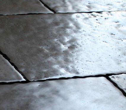 "Historical Grey Natural Stone Antiqued tiles cm 40x60x1,5 ( 16""x 24""x 5/8). Made by Flli Barbieri Italy. www.giovannibarbieri.com"