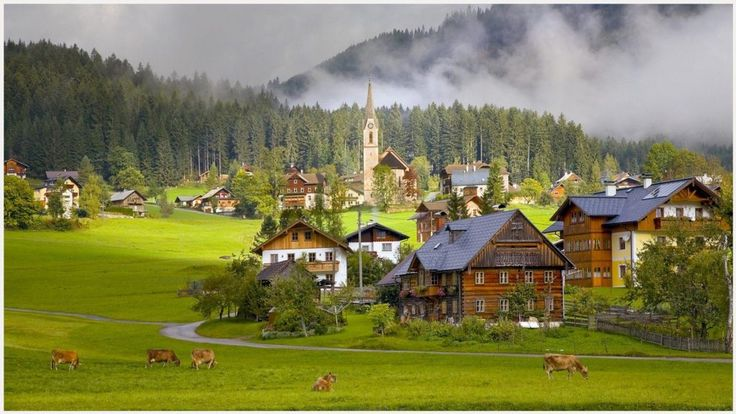 Austria Tourism Village Wallpaper | austria tourism village wallpaper 1080p, austria tourism village wallpaper desktop, austria tourism village wallpaper hd, austria tourism village wallpaper iphone