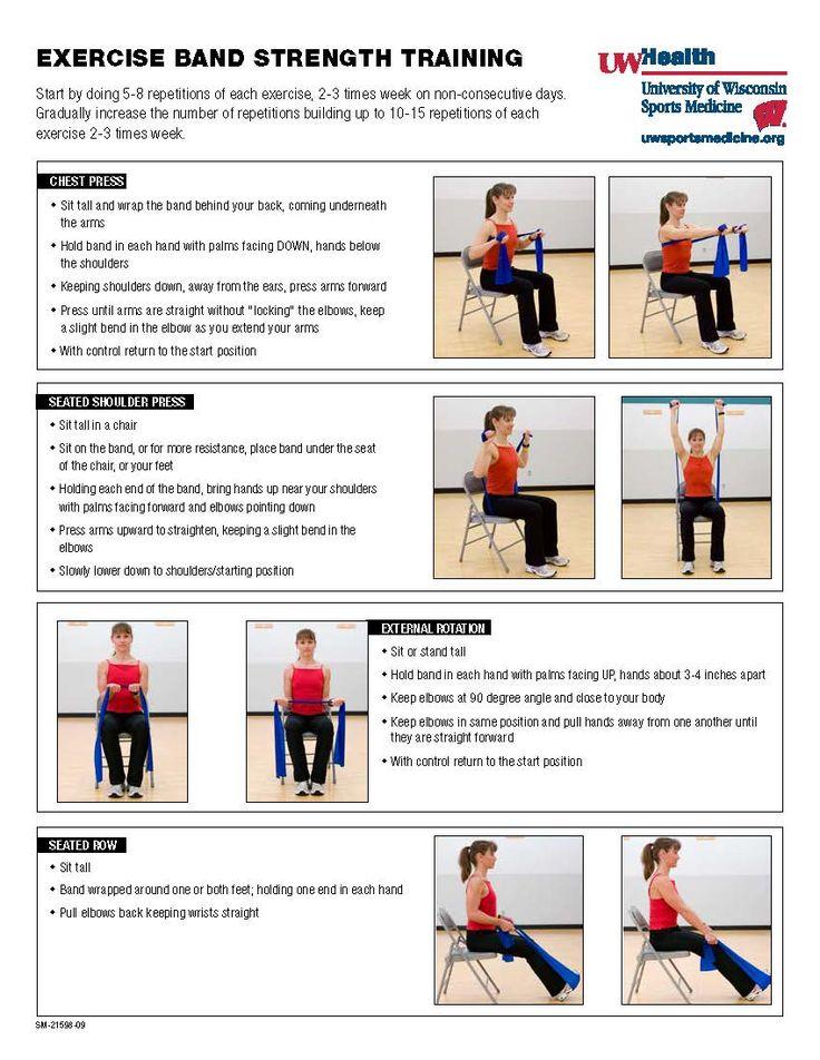 UW Health Exercise Band Strength Training Full Body