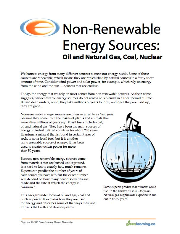 Worksheets Renewable And Nonrenewable Resources Worksheets 1000 ideas about non renewable resource on pinterest natural energy sources education backgrounder and printable lesson plans meets canadian curriculum