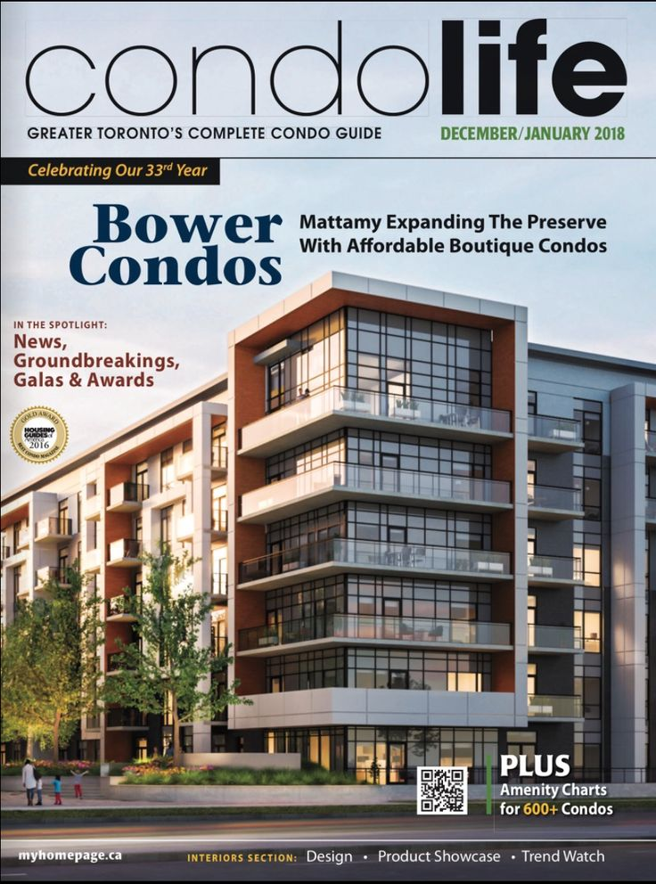 Dec/Jan CONDO LIFE is now online for you to read free! Find your condo fast with our builder ads, articles, news, groundbreakings, and detailed amenity charts and colour-coded maps for over 600 new condos! Plus, get the latest on design, products and trends for inside your condo with our Interiors section! Click this link to get finding today: http://digitalcondolife.myhomepage.ca/20…/December_January/… Cover: Mattamy Homes expanding The Preserve with affordable boutique condos!