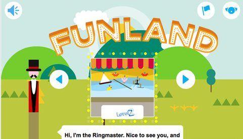 Funland, la app de Cambridge para que los más pequeños aprendan inglés