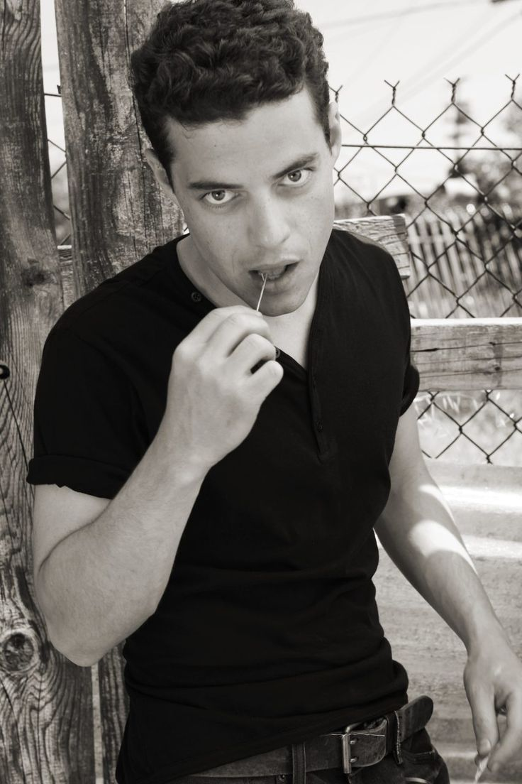 Rami Malek. Do with that what you will. ;)