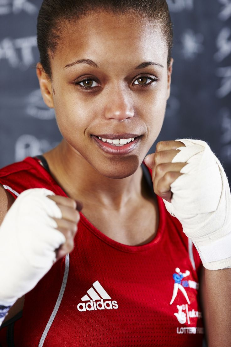 Natasha Jones (Olympics 2012 - Team GB Boxing)
