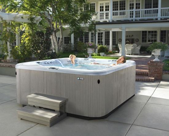 45 best hot spring spas images on pinterest whirlpool. Black Bedroom Furniture Sets. Home Design Ideas