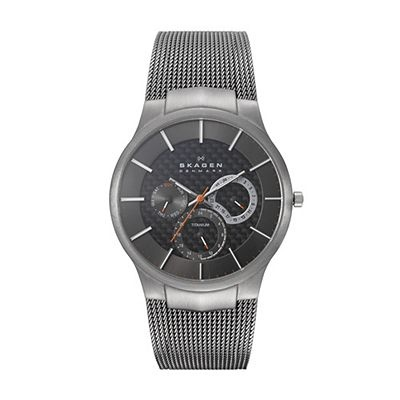 SKAGEN Titanium Grey Mesh Men's Watch 809XLTTM