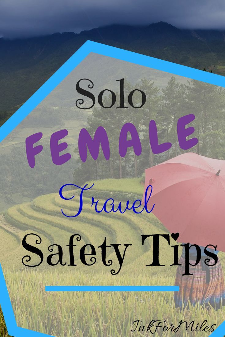 """""""Wow! You're so brave. I could never do that. Weren't you scared?"""" Traveling solo is one thing, but traveling solo as a woman comes with its own set of concerns. Here are some safety tips for solo female travel. #SoloTravel #SoloFe"""