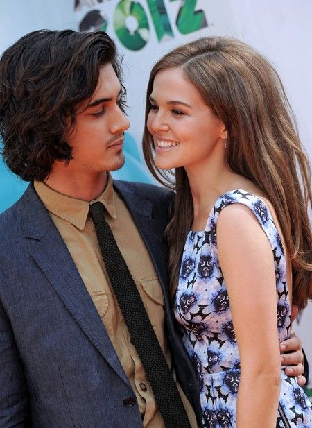 Canadian actor and singer, Avan Jogia with his girlfriend Zoey Deutch