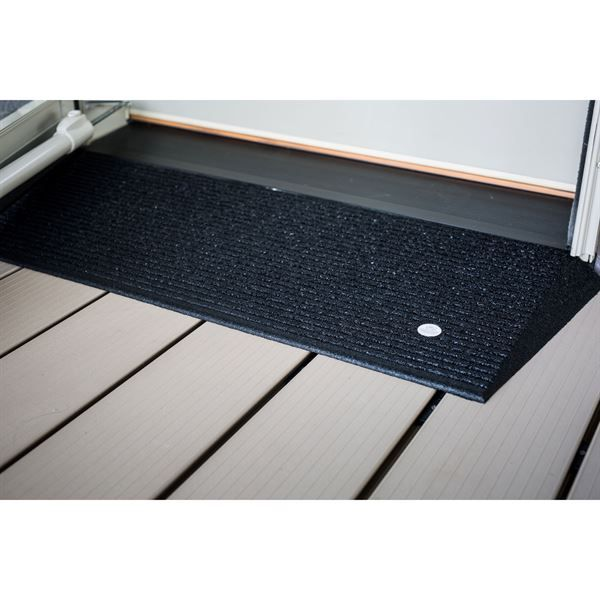 EZ Access Transitions® Rubber Angled Threshold Ramp