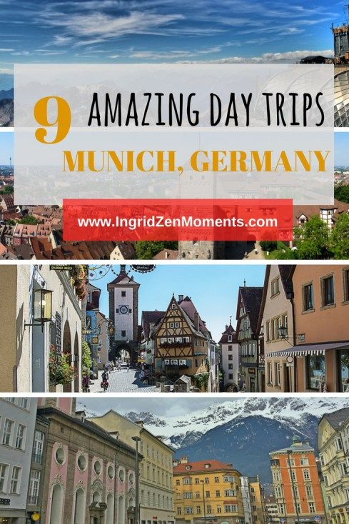 Perfect day trips from Munich, Germany - IngridZenMoments