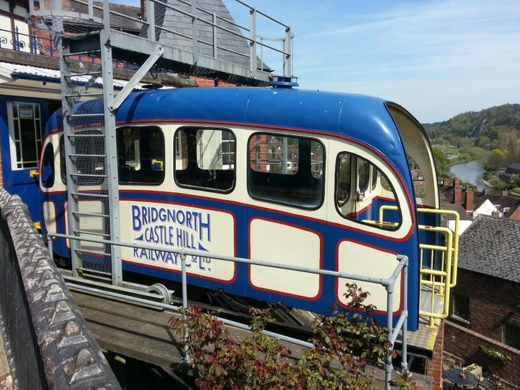 Cliff railway at Bridgnorth. UK