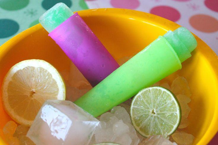Polos Calippo de lima limón