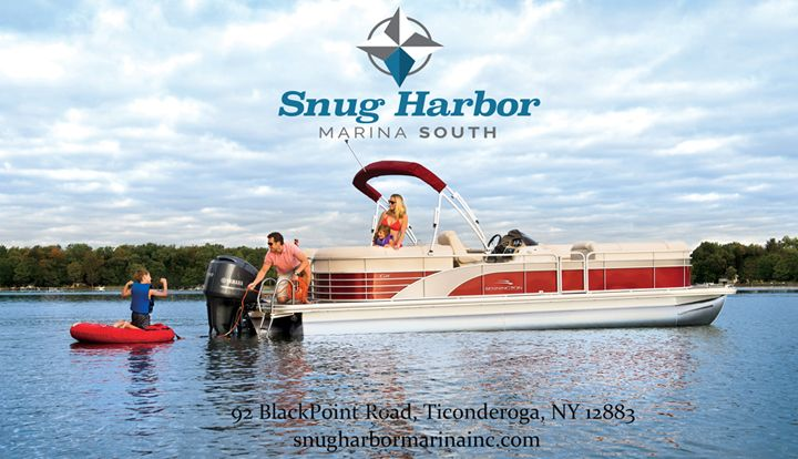 Snug Harbor Marina in Ticonderoga is one of the Premier Bennington Dealers in the Northeast!