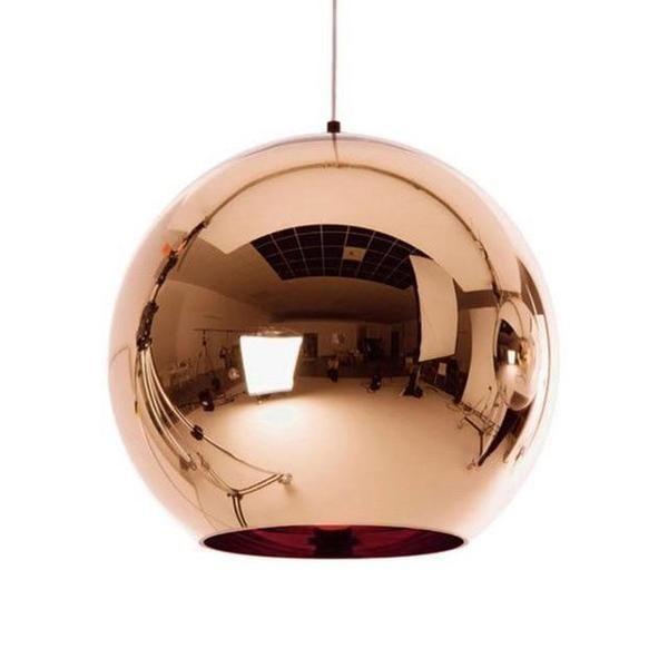 Globe 7 3 4 In 2020 Glass Ball Pendant Lighting Copper Pendant Lights Ball Pendant Lighting