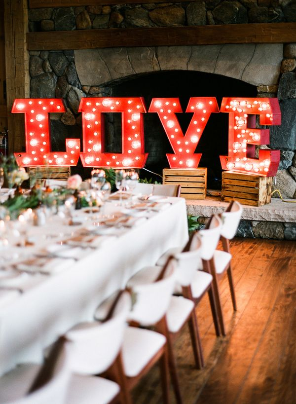 Marquee Letters Make a statement with