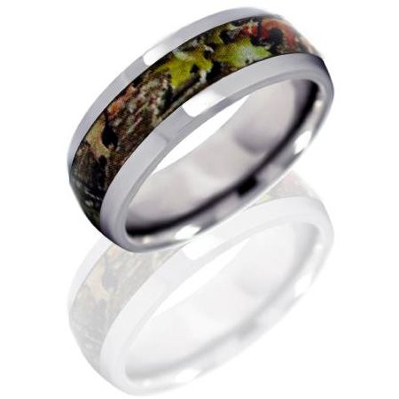 Mens Camo wedding band! Oh yea!