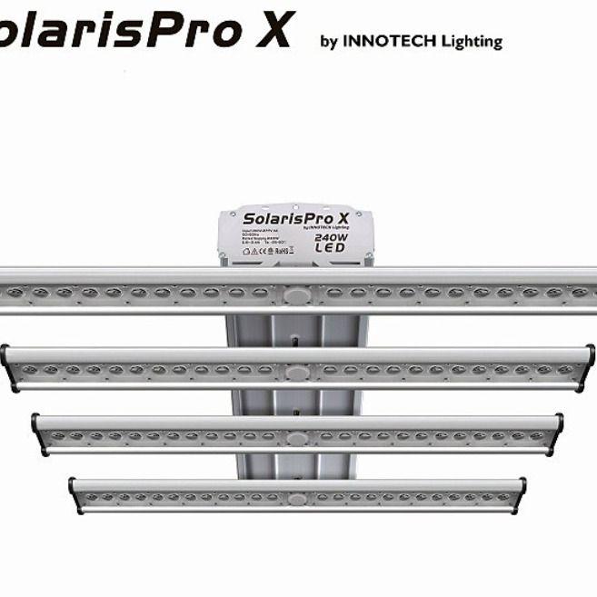 Panel Led 240w Lighting Solaryspro X De Innotech Para Cultivo Interior Led Panel Led Armarios De Cultivo