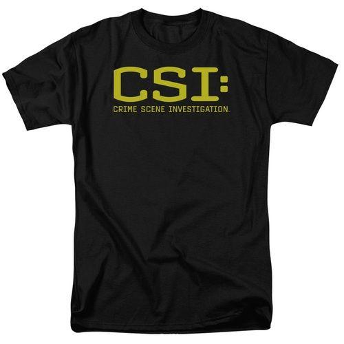 CSI Crime Scene Investigation Logo T-Shirt