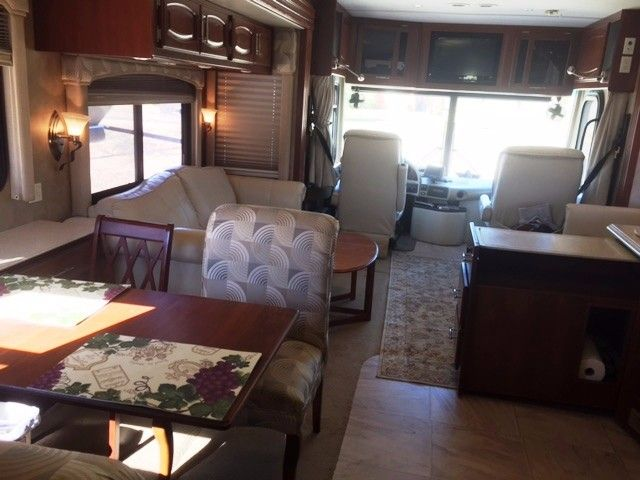 2007 Used Fleetwood Excursion 39L Class A in Texas TX.Recreational Vehicle, rv, Diesel Pusher. 350 Cat. Allison trans. Freightliner, 2000 amp invertor. Everything automatic. Fully loaded. Electric jacks, Washer dryer,Central vac, outside kitchen. Kitchen pullout counter. Convection microwave,Oven, three burner stove. Invisible shield, side vision cameras, back camera, in motion satellite, three tv's, surround sound, queen size sleep number bed, four door frig, stainless sinks, full size…