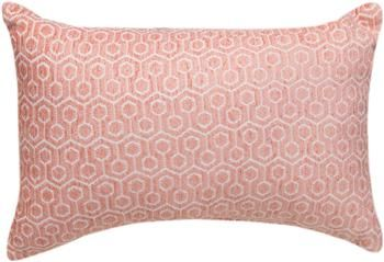 """THKCRL 18"""" x 13"""" Kiki Collection Coral Rectangle Tapestry Pillow                                                        contemporary"""