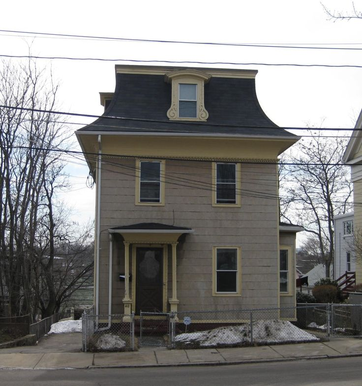 37 best mansard roofs images on pinterest attic loft for Mansard roof pros and cons