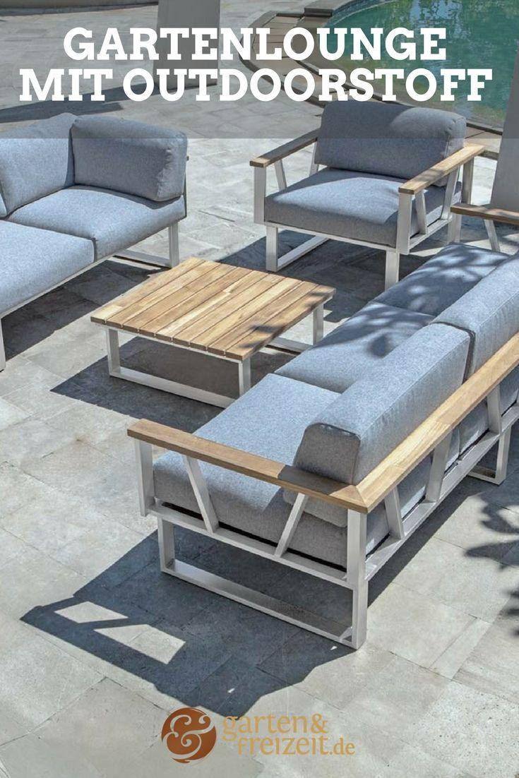 Sieht Aus Wie Eine Sofalandschaft Fürs Wohnzimmer, Ist Aber Eine Lounge Für  Den Außeneinsatz!